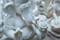 Statues of Hindu Gods and Goddess. Crafts and Arts of India. Mur Stock Image