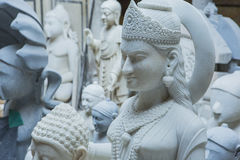 Statues of Hindu Gods and Goddess. Crafts and Arts of India. Mur Stock Photos