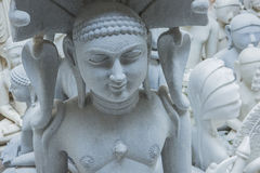 Statues of Hindu Gods and Goddess. Crafts and Arts of India. Mur Royalty Free Stock Photos