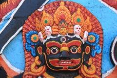 Statues of Hindu gods Kali In Kathmandu(nepal). Royalty Free Stock Image