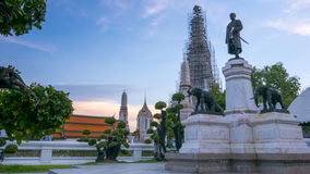 Statues of His Majesty King Rama 2 Royalty Free Stock Photo