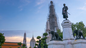 Statues of His Majesty King Rama 2 Royalty Free Stock Photos