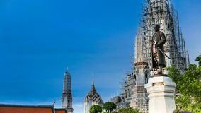 Statues of His Majesty King Rama 2 ( Name : Buddha loetla  nabhalai ) Royalty Free Stock Photos