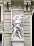 Statues in Hofburg, in Vienna(Wien), Austria (Osterreich) Stock Images