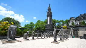 Statues Hue, Vietnam Images libres de droits
