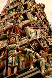 Statues indiennes de temple Photographie stock