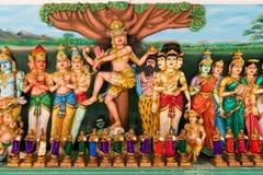 Statues indoues traditionnelles de dieux Image stock