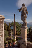 Statues on Isola Bella Stock Image