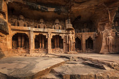 Statues of Jain thirthankaras Royalty Free Stock Photography
