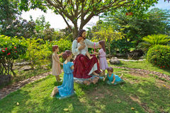Statues of Jesus Royalty Free Stock Images