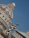 Statues in Miracles square in Pisa Stock Photo