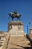 Statues in the Monument of Victor Emmanuel II, the museum comple Royalty Free Stock Image
