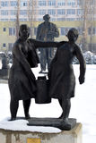 Statues in Museum of Socialist Art Royalty Free Stock Photos