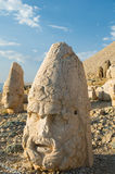 Statues on Nemrut mountain Stock Images