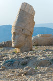 Statues on Nemrut mountain Royalty Free Stock Photo