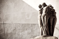 Statues of nude women Royalty Free Stock Image