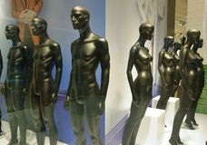 Statues nues Photo stock