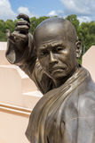 Statues Of Chinese Shaolin Monks Stock Photo