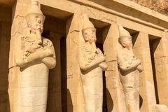 Statues of other Egypt. With the temple monuments megaliths. Statues of other Egypt. With the temple monuments megaliths royalty free stock images