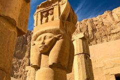 Statues of other Egypt. With the temple monuments megaliths. Statues of other Egypt. With the temple monuments megaliths royalty free stock image