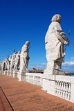 Statues Over St Peters Square Royalty Free Stock Photo