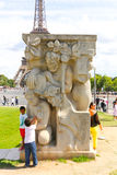 Statues of Paris Stock Image