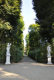 Statues in the Park from Sanssouci in Potsdam,Germany royalty free stock photography