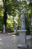 Statues in the Park from Sanssouci in Potsdam,Germany royalty free stock images