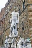 Statues in Piazza della Signoria, Italy Stock Images