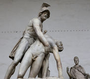 Statues in piazza della signoria, Florence, Italy Royalty Free Stock Photography