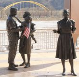 Statues - Pittsburgh, Pennsylvania Royalty Free Stock Images