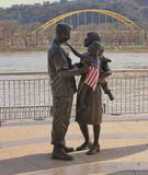Statues - Pittsburgh, Pennsylvania Stock Images