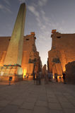 Statues of Ramses II at Luxor Temple. Luxor, Egypt Stock Photo