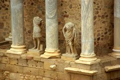 Statues romaines Photos stock