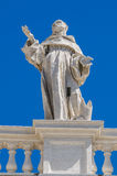 Statues on the roof of St. Peter Cathedral in Royalty Free Stock Photos