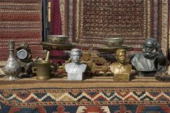 Statues & Rugs Stock Photos