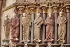 Statues of saints Stock Photos