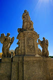 Statues of saints and archangels Royalty Free Stock Photography