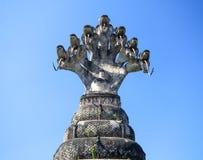 Statues in the Sculpture Park - Nong Khai, Thailand stock photos