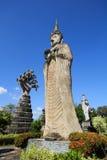 Statues in the Sculpture Park - Nong Khai, Thailand stock image