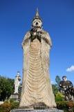 Statues in the Sculpture Park - Nong Khai, Thailand stock photo