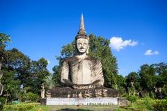 Statues in the Sculpture Park - Nong Khai, Thailand stock photography