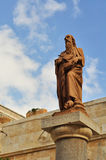 The statues of St. Jerome in Bethlehem Royalty Free Stock Photo