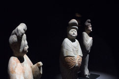 Statues In the Tang Dynasty Royalty Free Stock Image
