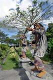 Statues in Tirta Gangga. Imperial swimming baths, Bali, Indonesia Stock Image
