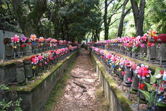 Statues for Unborn Children in Tokyo Stock Photography