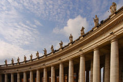 Statues in Vatican Stock Images