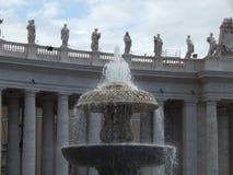 statues vatican Photos libres de droits