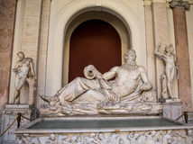 Statues in Vatican Museum Royalty Free Stock Image