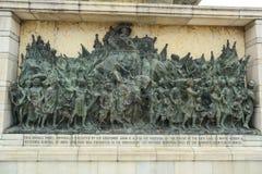 Statues at Victoria Memorial in Kolkata, India Royalty Free Stock Photography